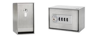 schl sseltresore schl sseldepots aus edelstahl f r au enbereich. Black Bedroom Furniture Sets. Home Design Ideas