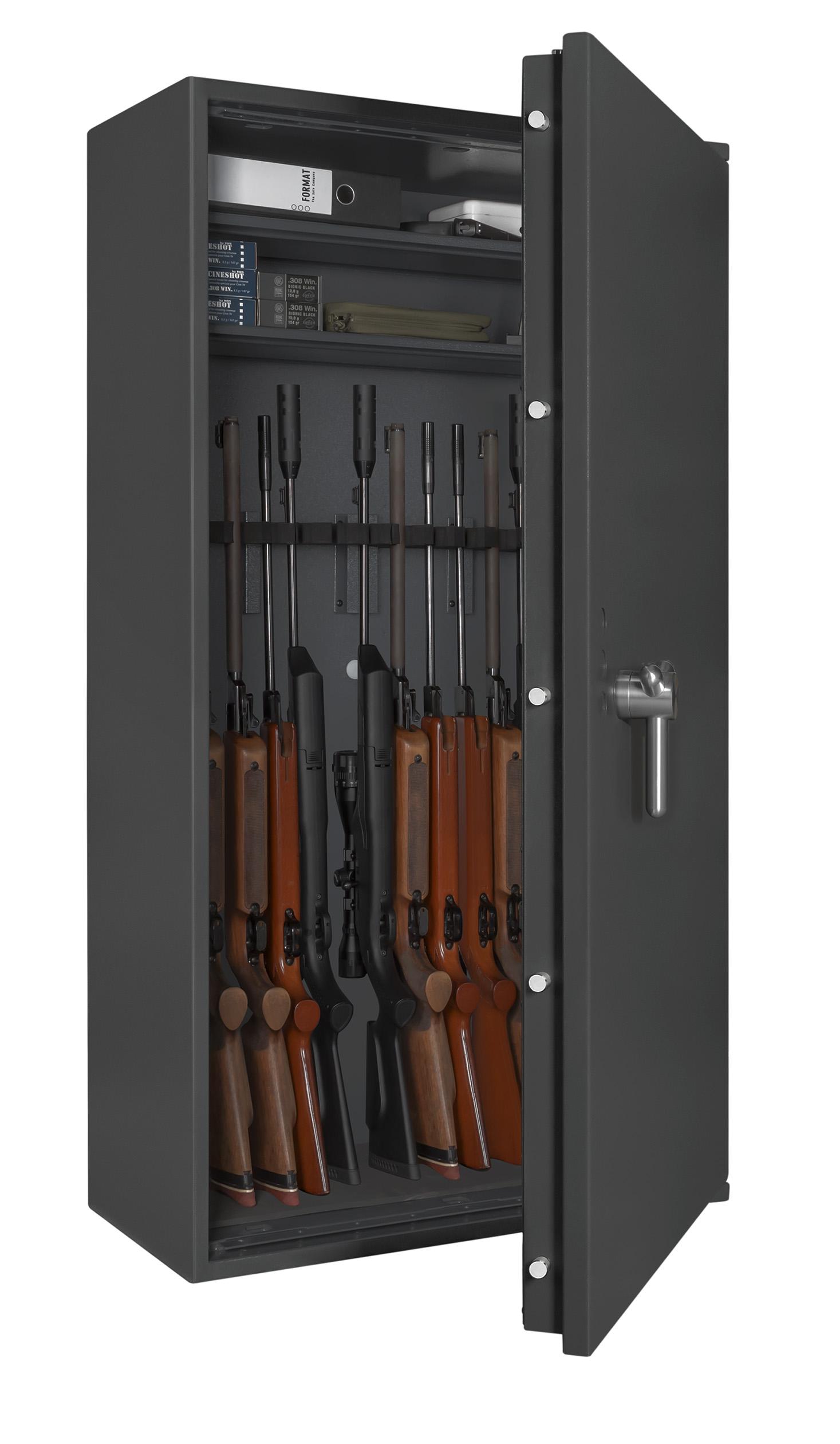 format capriolo waffenschrank en 1143 1 capriolo 4 f r 14 langwaffen kurzwaffen und munition. Black Bedroom Furniture Sets. Home Design Ideas