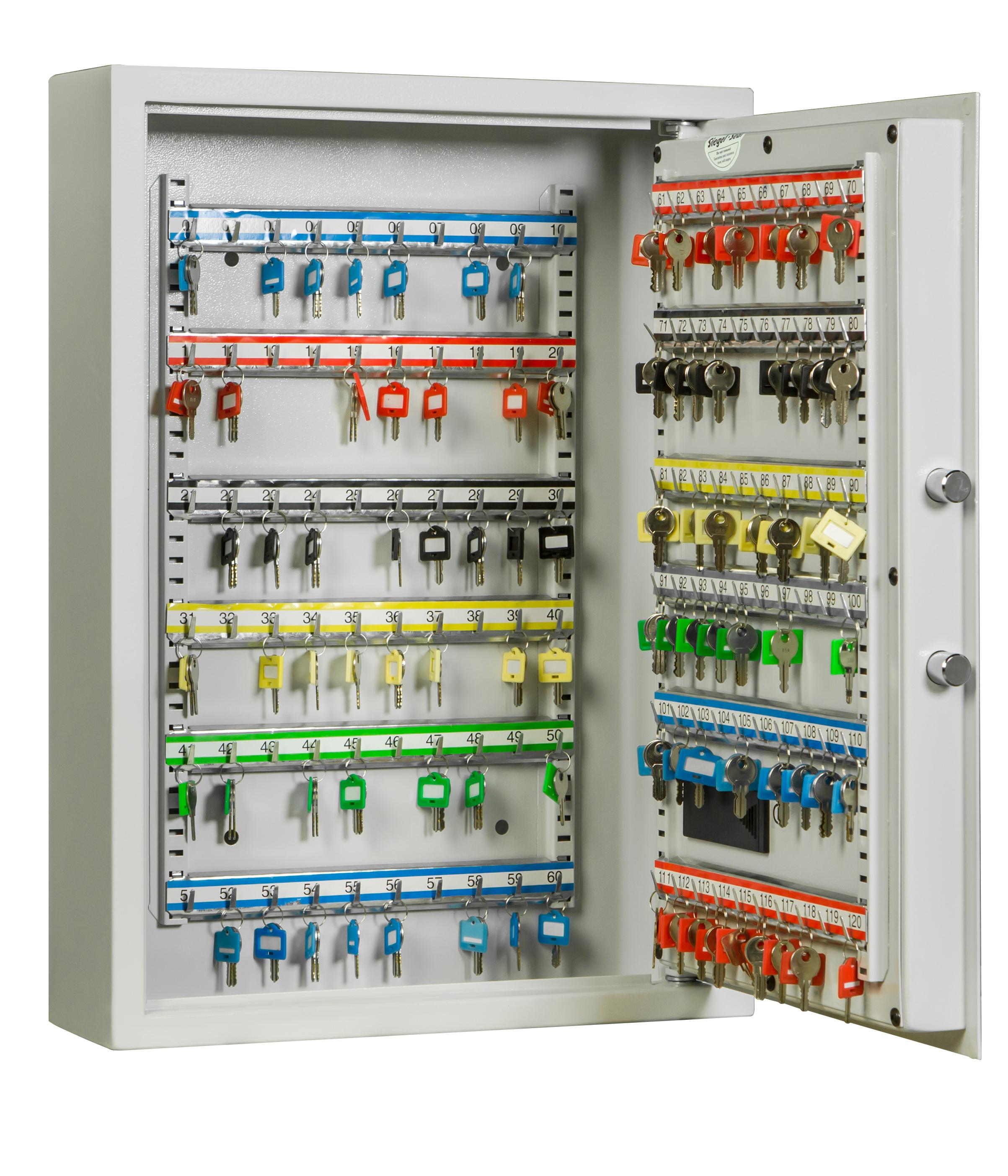 Schlüsselschrank SLE 120 für 120 Schlüssel mit Elektronikschloss