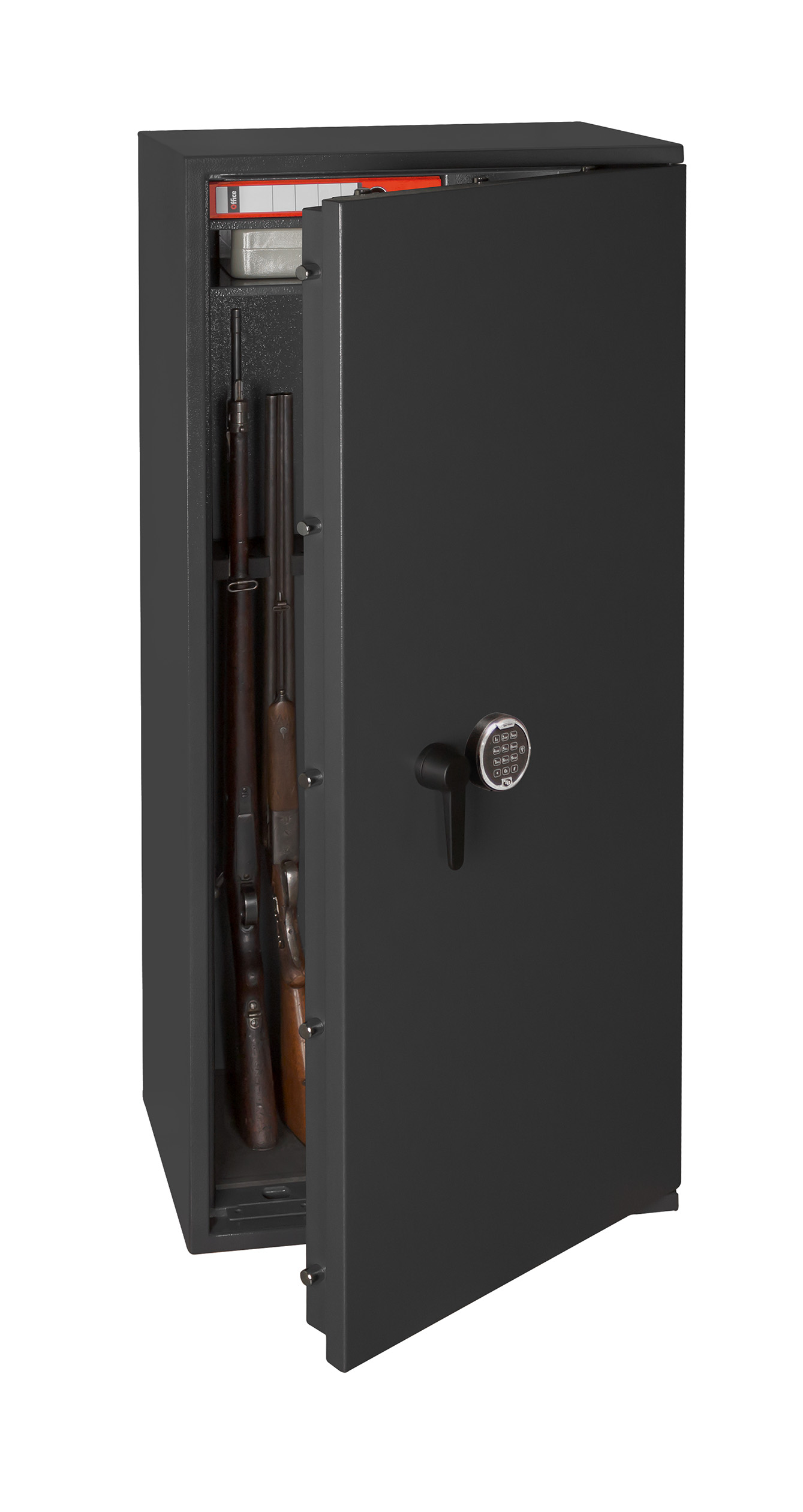 waffenschrank gun safe kombi nach en 1143 1 mit zahlenschloss. Black Bedroom Furniture Sets. Home Design Ideas