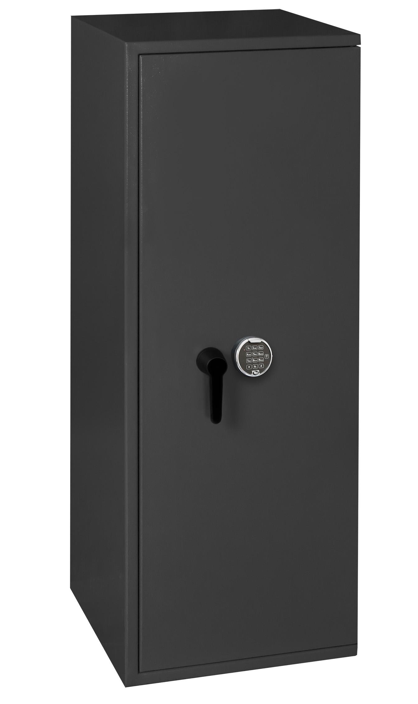 waffenschrank grad 0 1 en 1143 1 gun safe 1 8 mit zahlenschloss. Black Bedroom Furniture Sets. Home Design Ideas