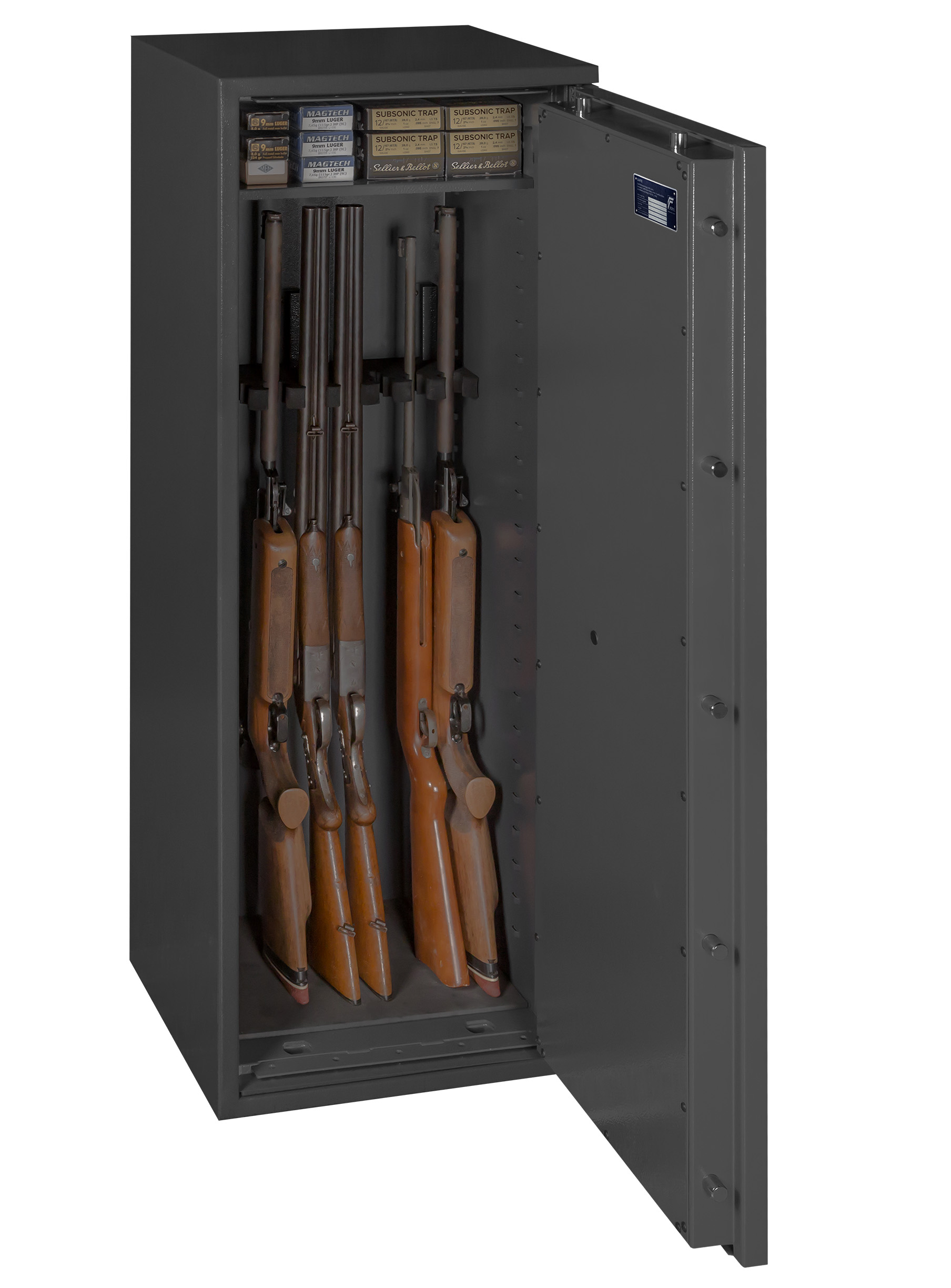 waffenschrank grad 0 1 en 1143 1 gun safe 1 8 mit. Black Bedroom Furniture Sets. Home Design Ideas