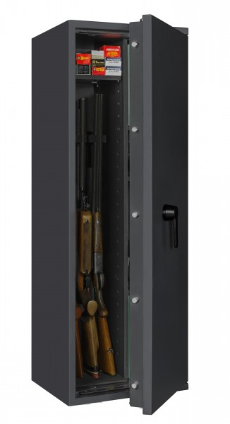 waffenschrank en 1143 1 gun safe i 0 1 4 kombi mit regalteil. Black Bedroom Furniture Sets. Home Design Ideas