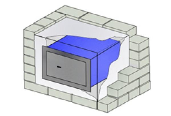 wandtresor format wb 2 vdma 24992 stufe b vdma einmauertresor. Black Bedroom Furniture Sets. Home Design Ideas